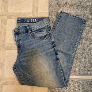 Gap Sexy Boyfriend Jeans Light Wash 👖